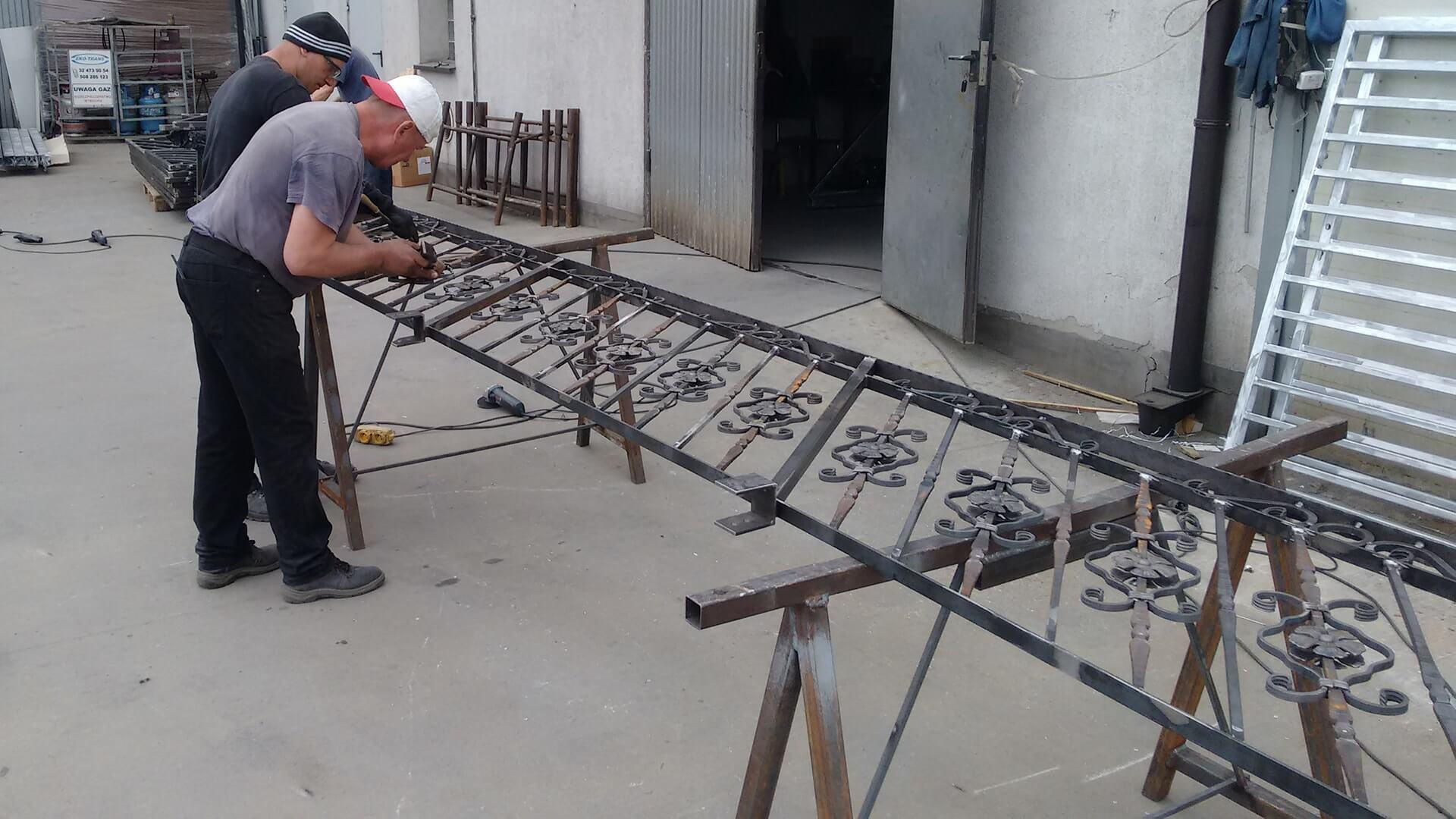 produkcja balustrady